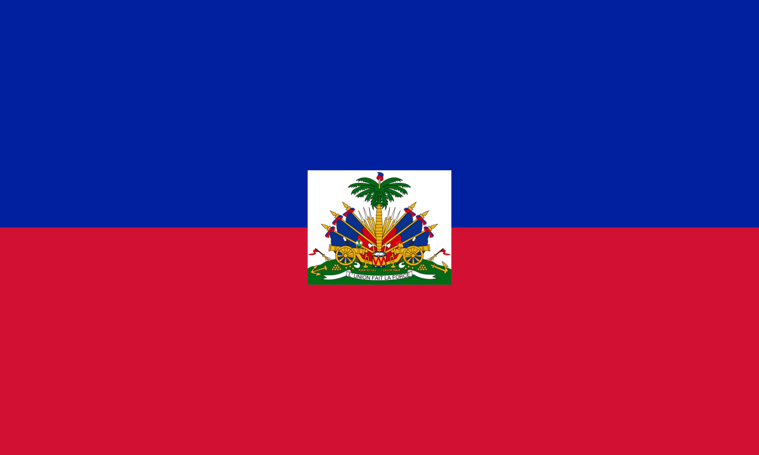 Neg Kreyol, Inc. and Fanm Kreyol, Inc. are clubs with members connected to Haiti, whose flag is shown above. Photo courtesy of Wikipedia