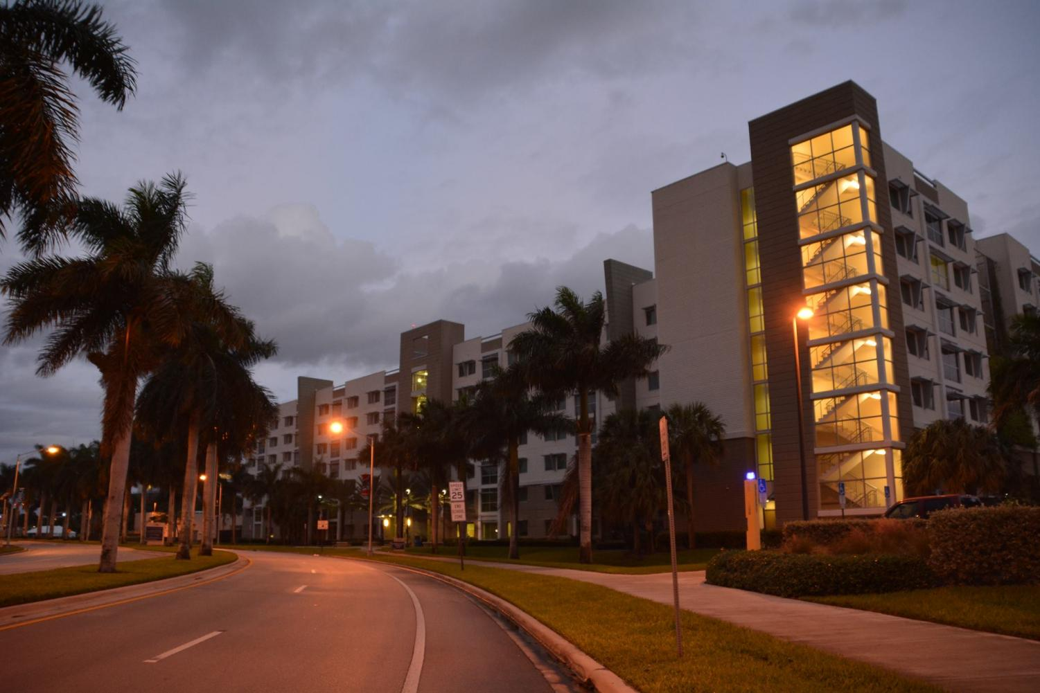 Innovation Village South, one of the dorms at FAU. Photo courtesy of FAU Housing's Facebook.