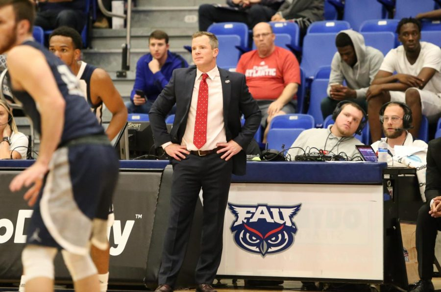 Dusty May's first year as head coach brought the Owls first winning record since the 2010-11 season.  Photo by: Alexander Rodriguez