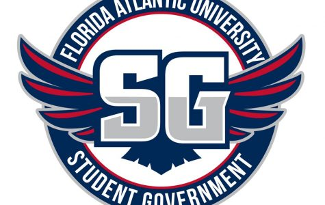 Student Government logo. Courtesy of FAU SG.