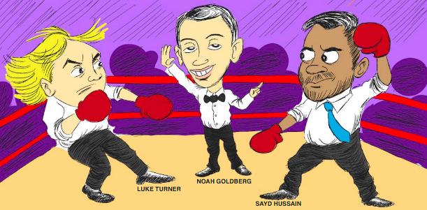 The impeachment of Luke Turner failed narrowly last fall. Illustration by Dan Bartholomew