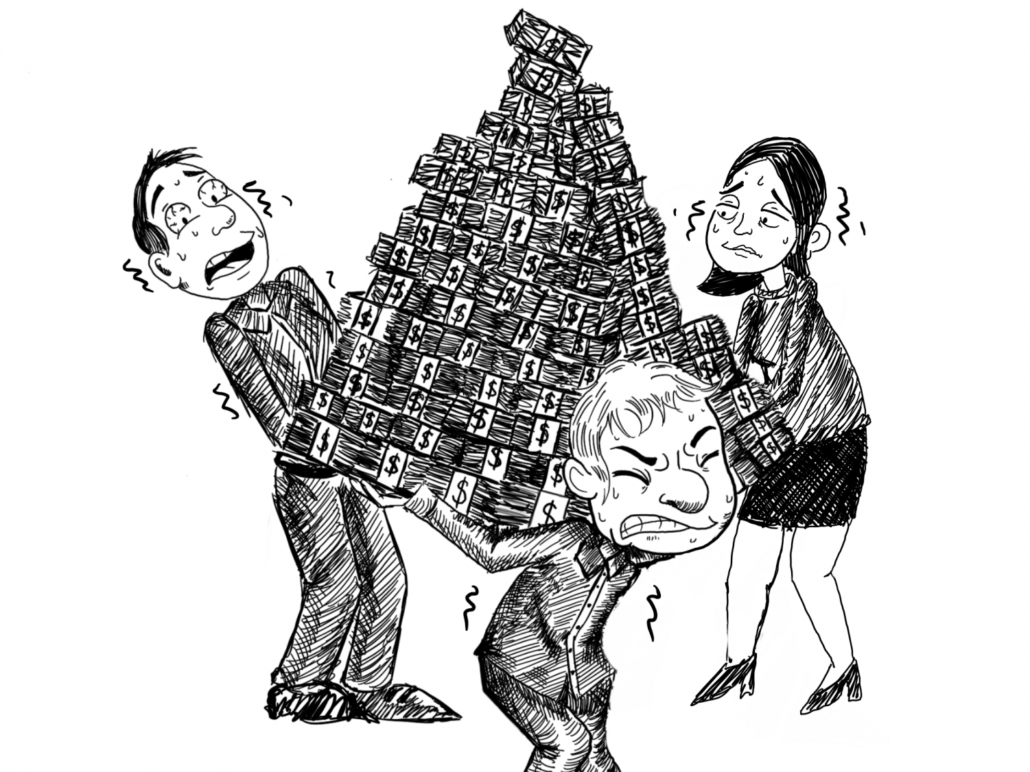 Cheryl Jarvis said college students likely try pyramid schemes because they are