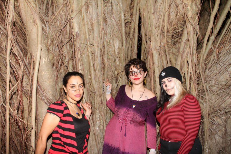 From left to right, Aradhana Rage, Sandi Kill and Sami-Jo Bones. Photo by Melanie Witherup.