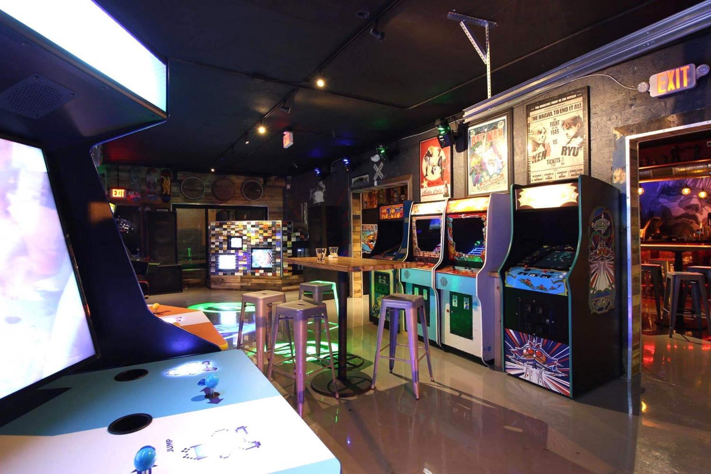 Photo of Glitch Bar courtesy of their Facebook