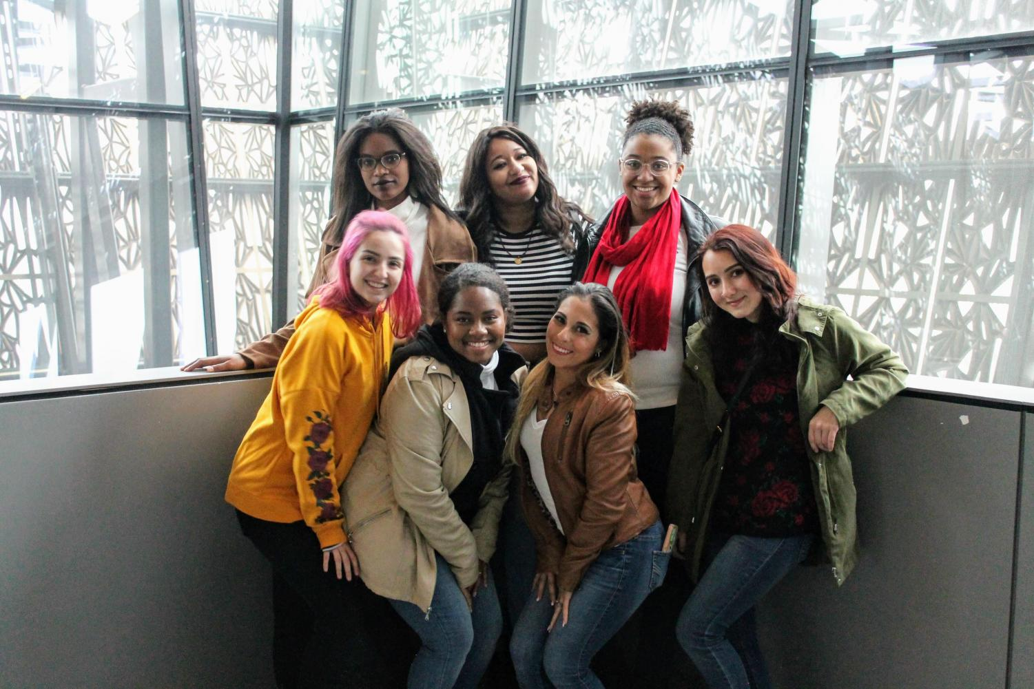 Members of FAU's National Organization of Women – Photo courtesy of NOW