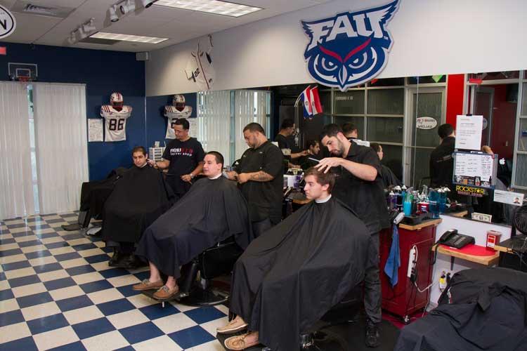 New Era barber shop. Photo courtesy of FAU