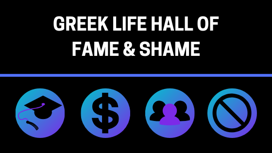 FAU has the lowest percentage of Greek members compared to the rest of the student body. Graphic by Cameren Boatner