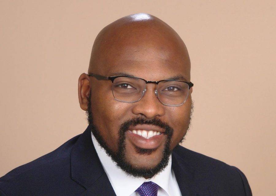 Deandre Poole, a professor of communications at FAU, is running for Palm Beach County office. Photo courtesy of Poole