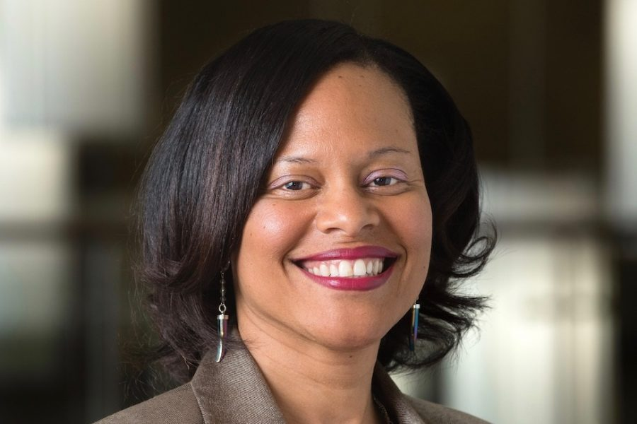 Safiya George, the new nursing college dean, comes from the University of Alabama, where she researched religion and HIV. Courtesy of FAU News Desk