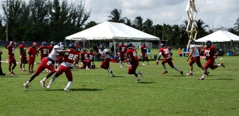 Football fall training camp to begin Friday