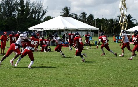 FAU struggles in special teams, Robison shines in QB battle in fifth day of practice