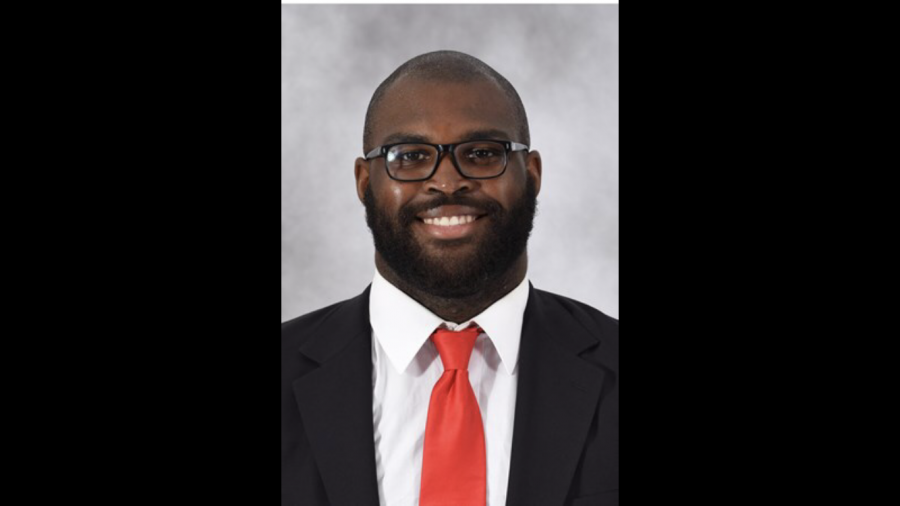 Offensive lineman Calvin Ashley transferred to FAU back in March and now he's on the move again to Florida A&M. Photo courtesy of FAUSports.com.