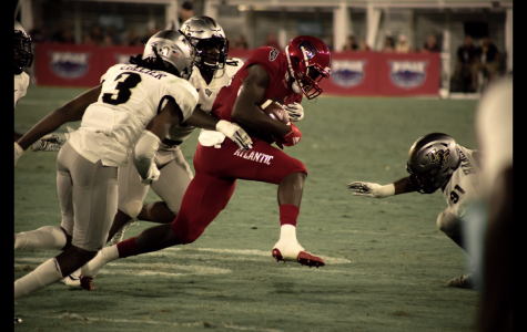 FAU falls to the UCF Knights Saturday, 48-14