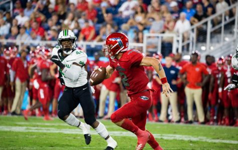 Thundering Herd ends Owls' four-game winning streak in a 36-31 defeat