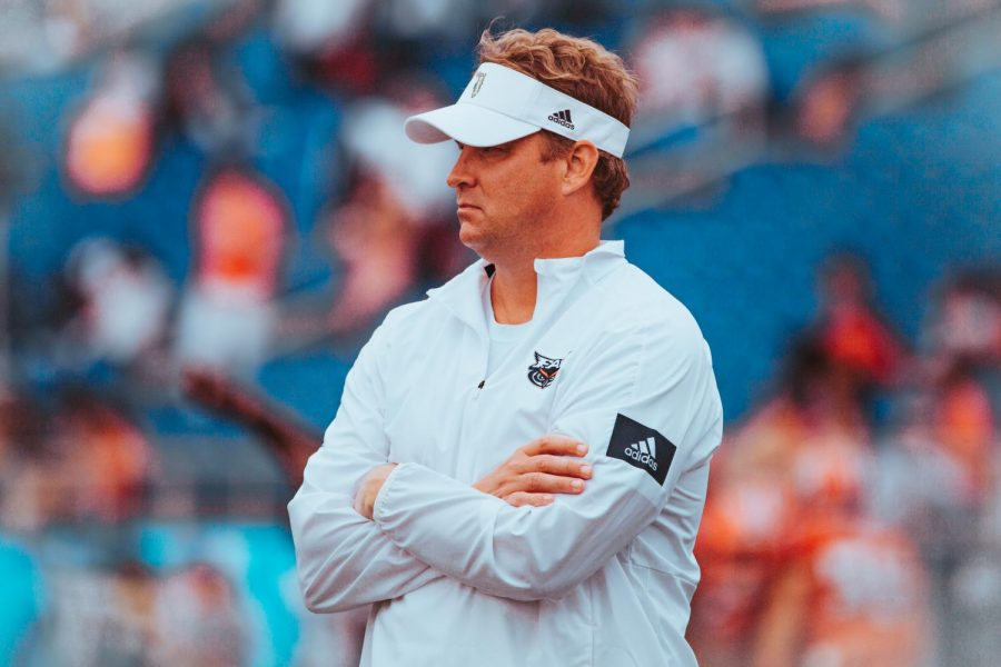 Head+coach+Lane+Kiffin+and+the+Owls+come+off+of+their+third+loss+of+the+season+against+Marshall.+Photo+by%3A+Alex+Liscio
