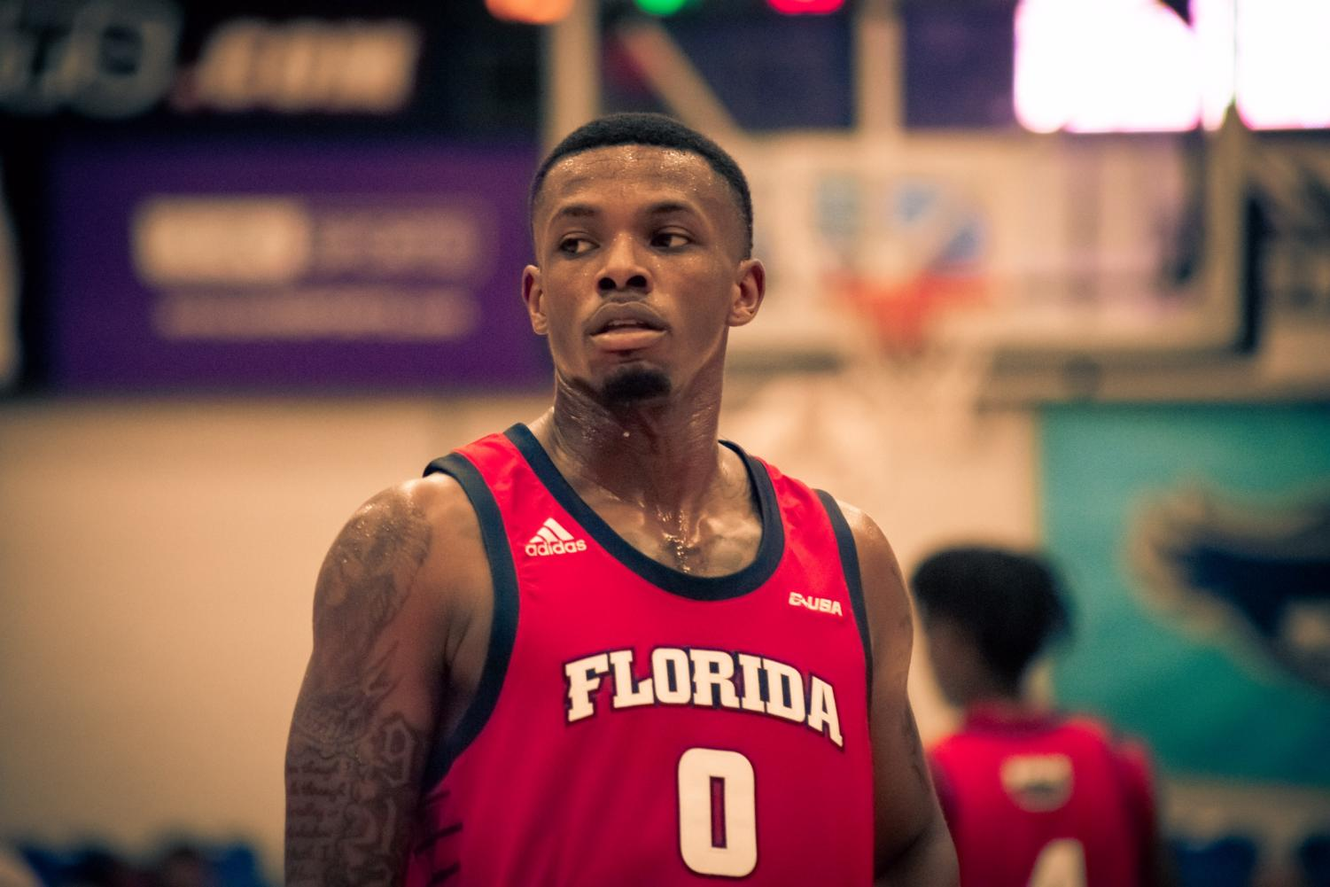 Graduate student Cornelius Taylor scored a team-high 20 points against the Flagler Saints. Photo by: Michael Hoyos.