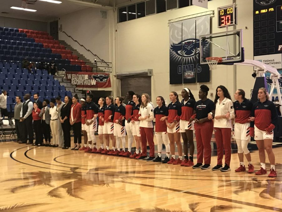FAU protects homecourt in their home opener beating the Siena Saints by 44 points. Photo by: Zachary Weinberger