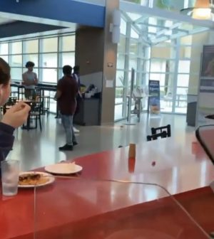Rat spotted in Atlantic Dining Hall Sunday, videos circulate Monday
