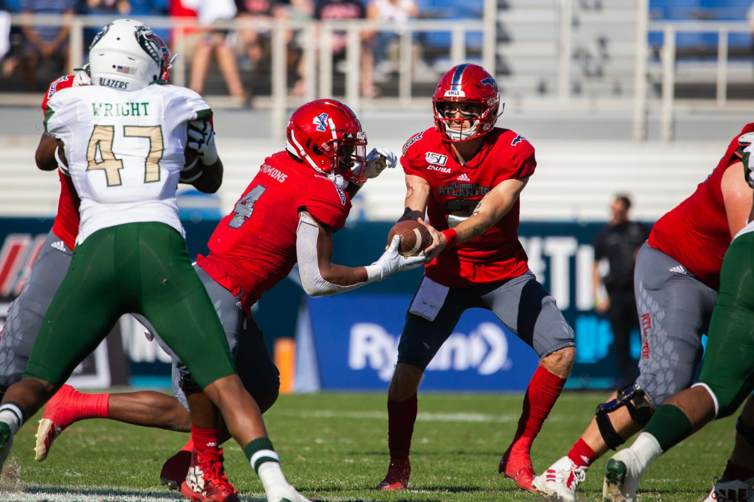 Quarterback Chris Robison was named Conference USA championship MVP as he threw for 267 yards to go along with four touchdown passes. Photo by: Alex Liscio.