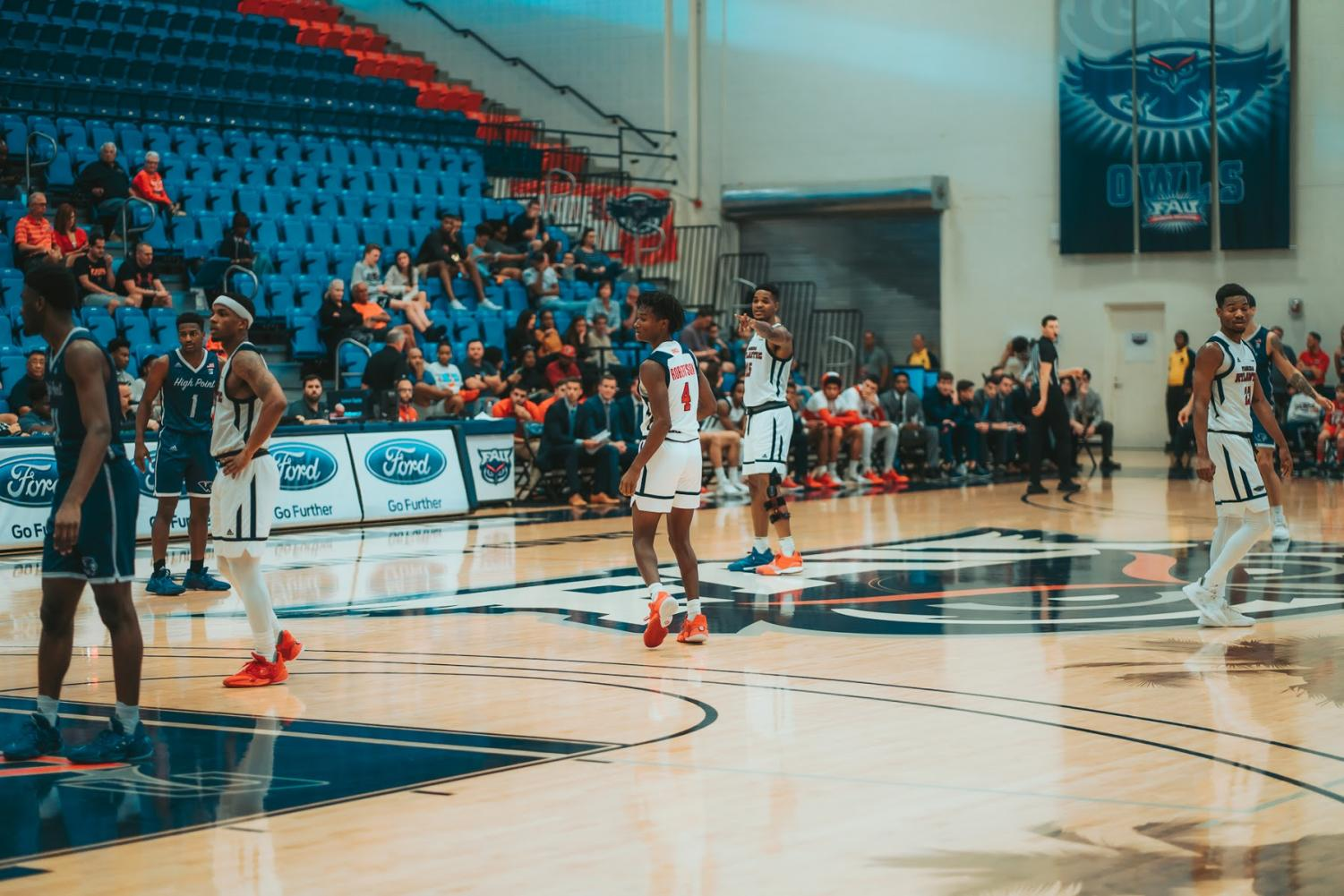 The home of FAU basketball and volleyball will be now called RoofClaim.com Arena. Photo by: Alex Liscio.