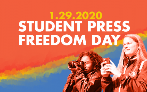Jan. 29 is Student Press Freedom Day, an event organized by the Student Press Law Center. Photo courtesy of SPLC