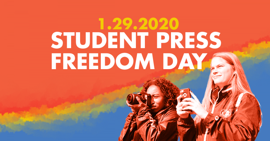 Jan.+29+is+Student+Press+Freedom+Day%2C+an+event+organized+by+the+Student+Press+Law+Center.+Photo+courtesy+of+SPLC