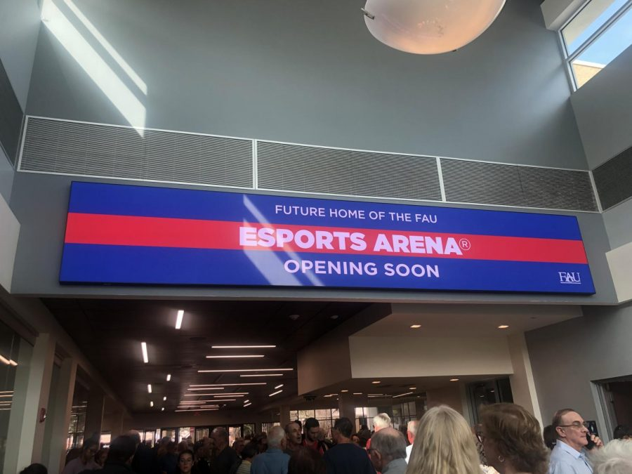 The eSports Arena is now expected to open in March. Photo by Kristen Grau