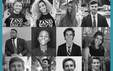 The 2020 Student Government candidates. Illustration by Israel Fontoura.