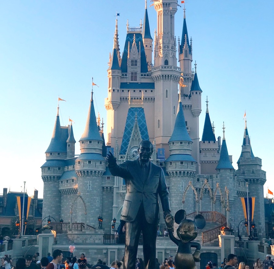 Magic Kingdom at Disney World. Photo courtesy of Madalynn Ralston.