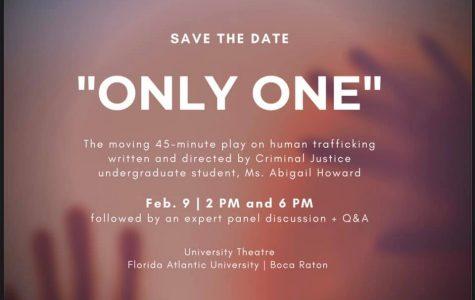 Criminology student hopes to raise awareness of human sex trafficking through play