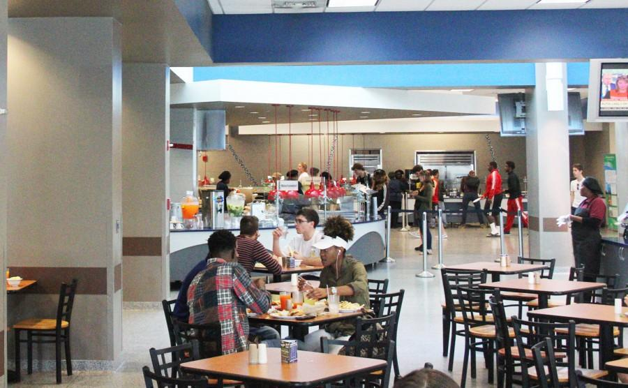 Interior of the Atlantic Dining Hall. Photo by Andrew Fraieli