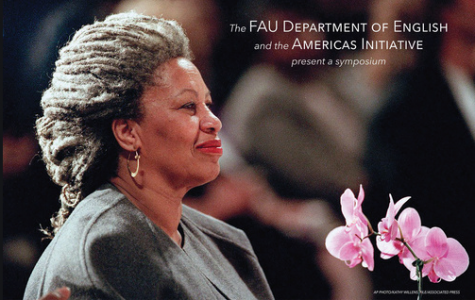The English department held a symposium in honor of Toni Morrison last week. Photo courtesy of FAU