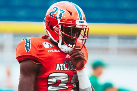 FAU DB James Pierre was a huge part of last year