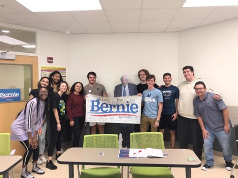 "The once ""Owls for Bernie"" club at FAU will now be called ""Owls for All"" after presidential candidate Bernie Sanders suspended his campaign. Photo courtesy of Owl Central."