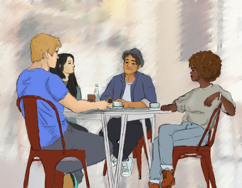 This was the only session in the series that was open to all races and ethnicities. Illustration by Michelle Rodriguez.