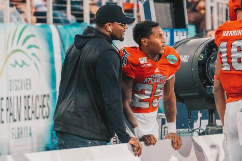 Rahsaan Lewis, son of NFL Hall of Famer Ray Lewis, is transferring to the University of Kentucky alongside his brother, Rayshad. Photo by Alex Liscio.