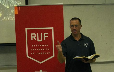 RUF pastor Jeff Lee promotes inclusivity and unity, especially during the time the country is currently in. Photo by Ethan Vogt.