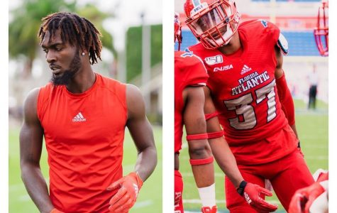 Littlejohn(left) and Henry(right) are the second and third FAU Football players to opt out of the 2020 season. Photos by Alex Liscio.