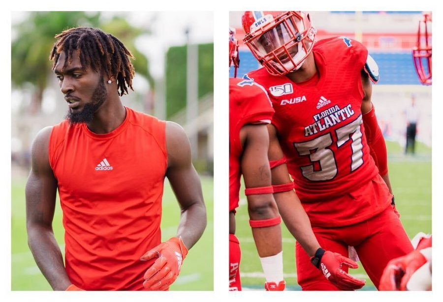 Littlejohn%28left%29+and+Henry%28right%29+are+the+second+and+third+FAU+Football+players+to+opt+out+of+the+2020+season.+Photos+by+Alex+Liscio.