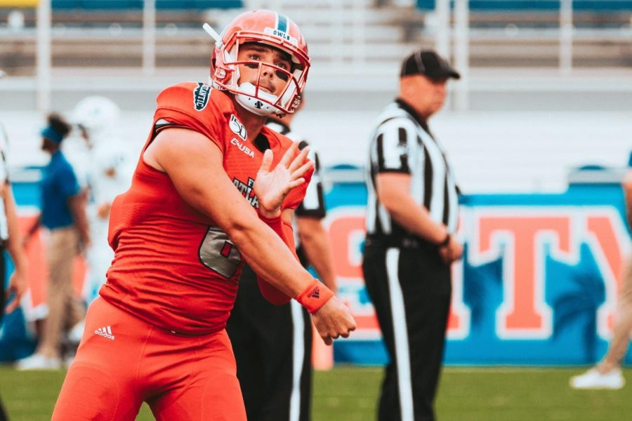 When under center last season, Tronti completed 17 of 22 passes for 180 yards, two touchdowns and one interception. He rushed 51 times for 239 yards and two touchdowns and caught one pass for 41 yards. Photo by Alex Liscio.