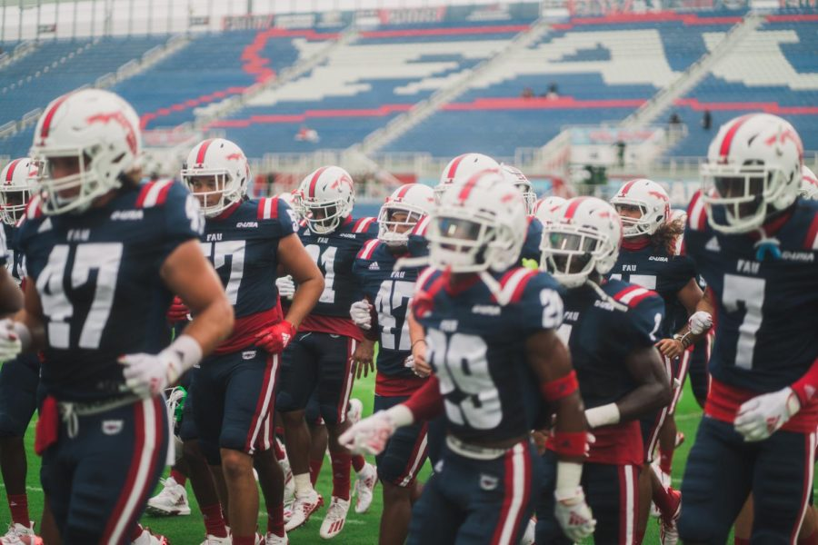 As UTSA will play their eighth game of the season, FAU will play their third. Photo by Alex Liscio.