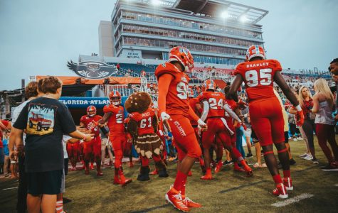 FAU is on track to play their first game of the season Saturday against the Charlotte 49ers at home. Photo by Alex Liscio.