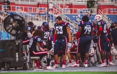 Last Saturday's game against Southern Miss was postponed because of matters relating to COVID-19 on FAU's side. Photo by Alex Liscio.