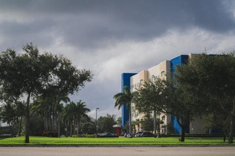 Classes were canceled Monday because of Tropical Storm Eta. Photo by Alex Liscio.