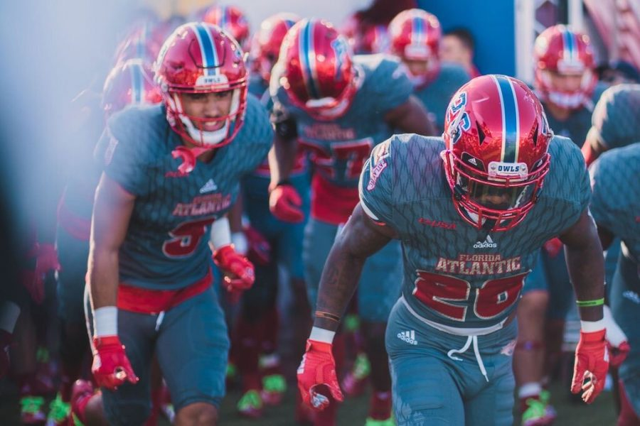The University Press Sports Staff predicts that FAU will win against WKU due to another dominant defensive performance. Photo by Alex Liscio.