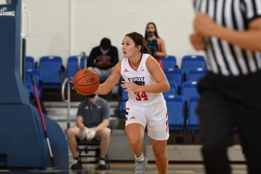 Alexa Zaph had 12 points in FAU's win over Florida Memorial. Photo Courtesy of JC Ridley.