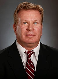 Stoops spent the last two years as an analyst for the University of Alabama before joining FAU. Photo courtesy of the University of Alabama Athletics.