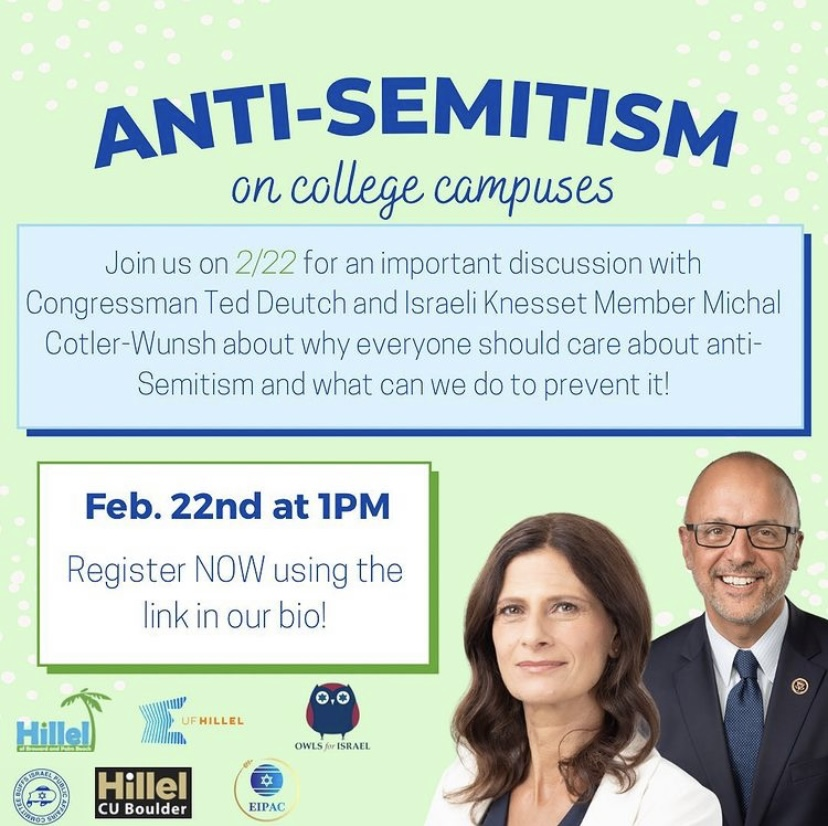 Flyer courtesy of Hillel at FAU
