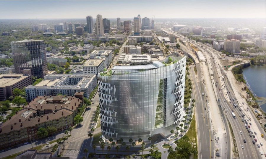 Image of the future Vertical Medical City in Orlando courtesy of Ponte Health.