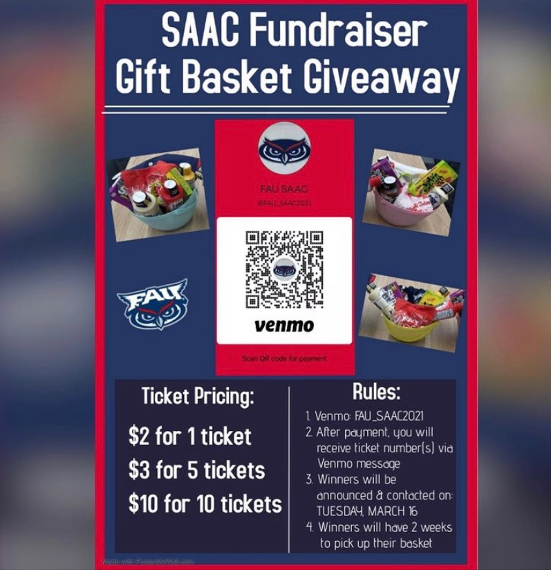 Student-Athlete Success Center announces gift basket fundraiser